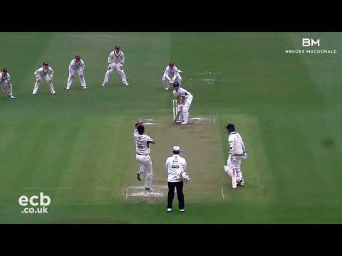 MIDDLESEX V NORTHANTS AT LORD'S - DAY ONE ACTION (13APR2018)