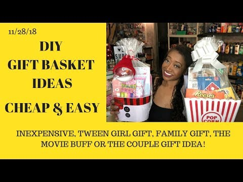 Easy Cute Inexpensive ❤️ DIY Gift Ideas~For Couples, The Movie Buff & Tween Girls~Inexpensive & Easy
