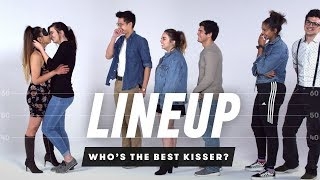 Who's the Best Kisser? | Liฑeup | Cut