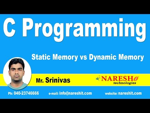 Static Memory vs Dynamic Memory | C Language Tutorial