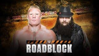 ST 224 (6) WWE Roadblock 2016 Brock Lesnar vs Bray Wyatt Match Predictions