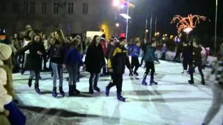 Sremska Mitrovica decembar 2014 - Klizanje 2