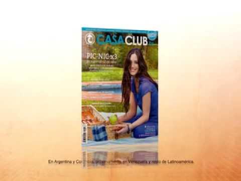Comercial Revista Casa Club TV Octubre - maru drozd locutora