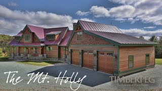 Video of Mt. Holly | Post and Beam Homes | Timberpeg