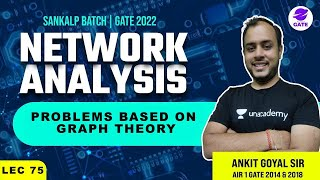 Problems based on Graph Theory  | Sankalp GATE 2022 Batch | L 75 | Network Analysis | GATE/ESE 22