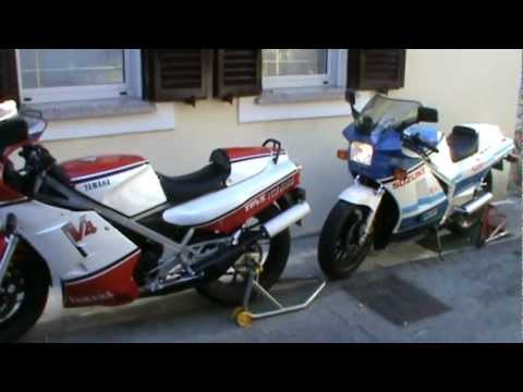 start my suzuki rg 500 gamma rd 500 lc yamaha youtube. Black Bedroom Furniture Sets. Home Design Ideas