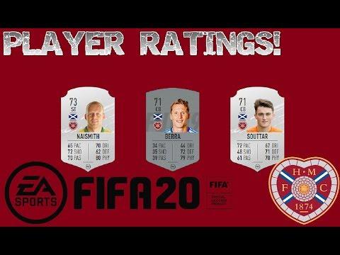 FIFA 20 HEARTS PLAYER RATINGS!!!!