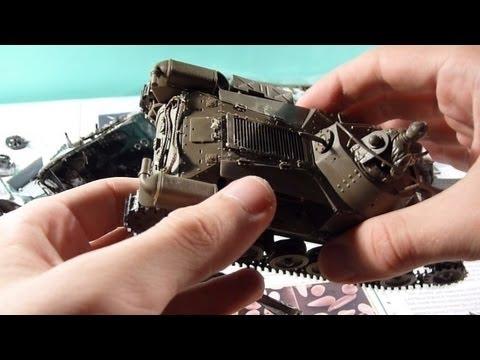 Сборка модели танка Type 97 Чи ха