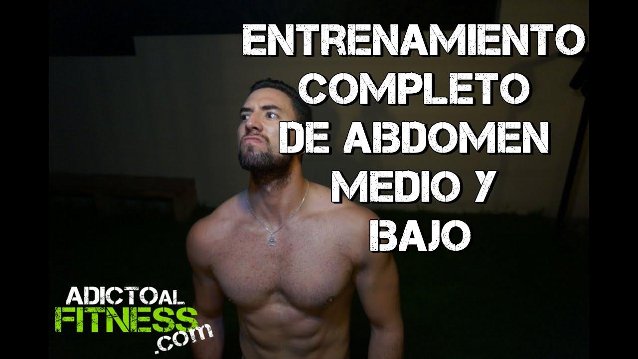 como entrenar el abdomen bajo