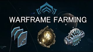 Warframe Farming - Relics, Credits & Fusion Cores (Specters Of The Rail)
