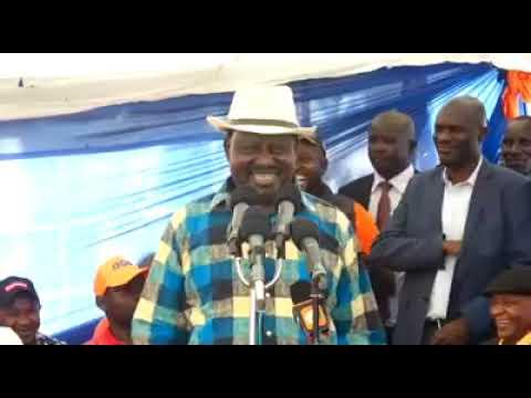 Kamba People are like Women- Raila Odinga | Daily Buzz Kenya