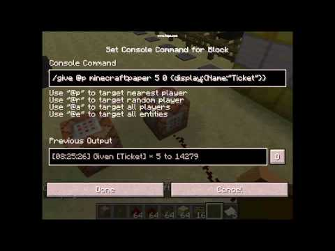 How to Rename a Item to A custom name in minecraft