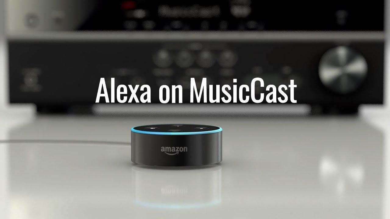 Amazon Alexa On Musiccast Youtube