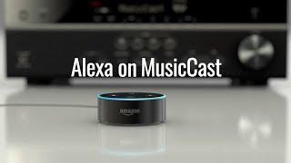 Amazon Alexa on MusicCast