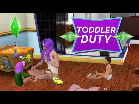 TODDLERS - Sims 3 Ever After Ep. 23