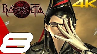 BAYONETTA - Gameplay Walkthrough Part 8 - Paradiso, A Remembrance of Time [4K 60FPS]