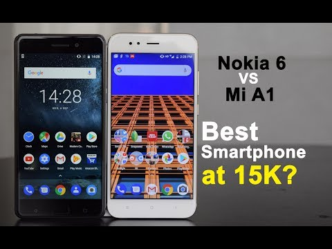 Xiaomi Mi A1 vs Nokia 6: camera, display, performance and design