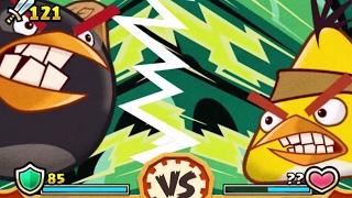 Обзор игры Angry Birds Fight (Злые Птички в Бой!) 3 в ряд, в необычном формате