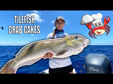 TILEFISH FISH CAKES RECIPE - Best Way To Cook Tilefish | Gale Force Twins