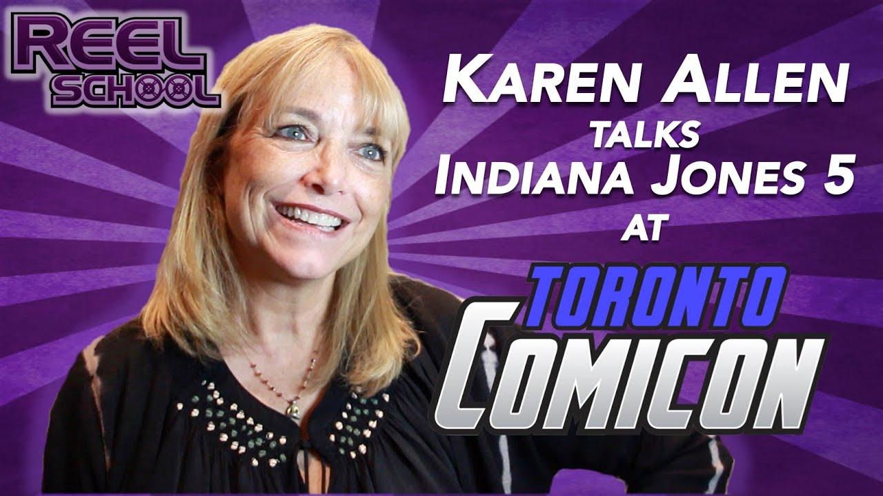 KAREN ALLEN talks INDIANA JONES 5!