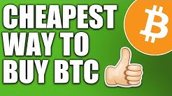 The CHEAPEST Ways to Buy Bitcoin (Cash App, Coinbase, & Binance US)