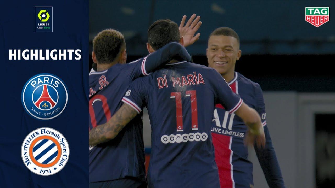 Download PARIS SAINT-GERMAIN - MONTPELLIER HÉRAULT SC (4 - 0) - Highlights - (PSG - MHSC) / 2020-2021