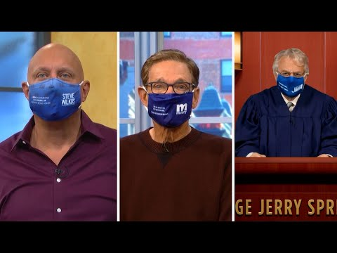 WEAR A MASK! w/ @Judge Jerry @TheMauryShowOfficial @The Steve Wilkos Show