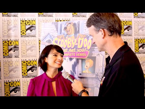 Kate Micucci Interview From SDCC For Scooby-Doo's 50th Anniversary