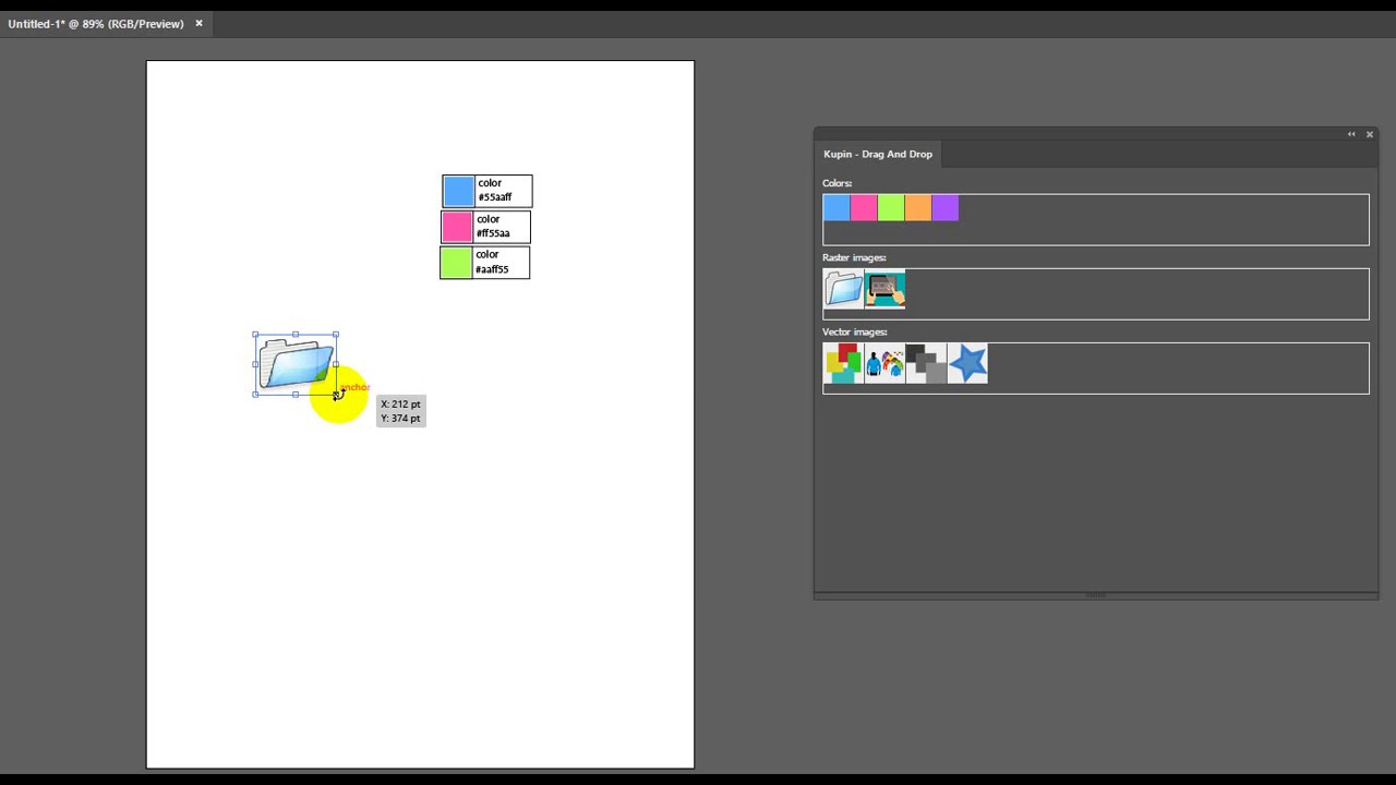 Drag and Drop images/layers from HTML to AI doc    | Adobe