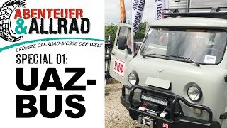 UAZ-Bus als Offroad Reisemobil  I 4x4 Passion #68