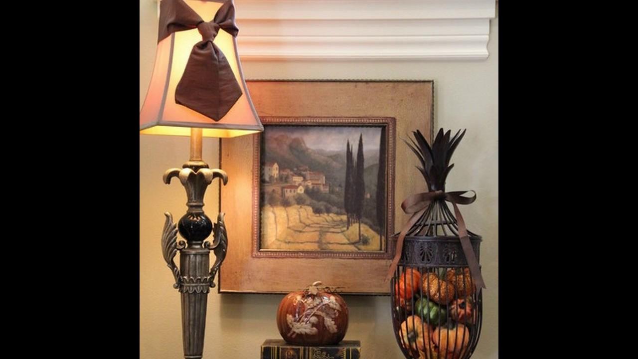 Ideas de decoración estilo toscano - YouTube
