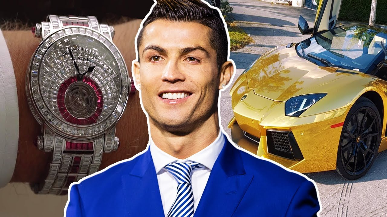 ดูซิ Cristiano Ronaldo ใช้เงินหลายล้านยังไง !
