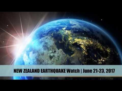 NEW ZEALAND EARTHQUAKE Watch | June 21-23, 2017