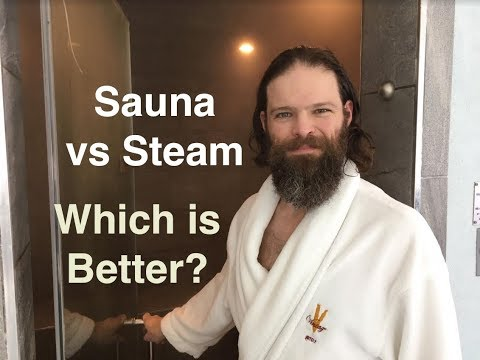Sauna vs Steam Room | Health Benefits