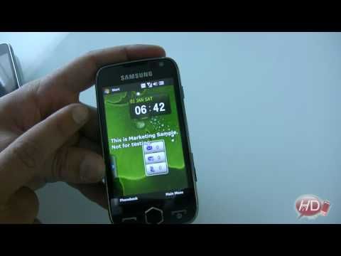 Samsung OMNIA 2 (i8000) video review/preview  - ENG -