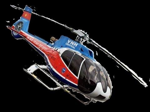 Mô phỏng hành trình chiếc trực thăng EC-130 rơi tại núi Dinh-Bà Rịa