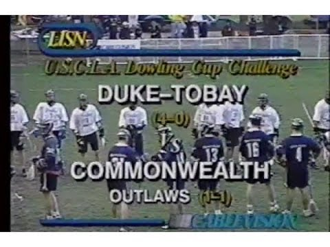 OLD SKOOL Lacrosse: 1999 Brine Commonwealth vs Tobay Men