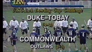 OLD SKOOL Lacrosse: 1999 Brine Commonwealth vs Tobay Men