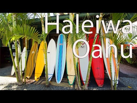 Best Towns in Hawaii - Haleiwa on the North Shore of Oahu