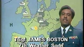 afn europe evening 10 p m newscast 1982