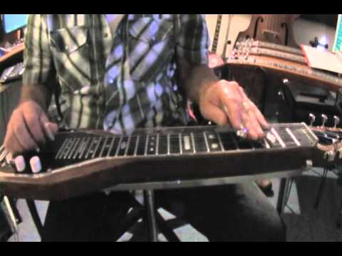 Major scale in C6 tuning for Steel Guitar