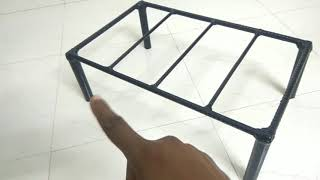 Iron rod moveble/folding cooler stand
