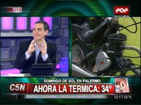 C5N - EL FINDE: DOMINGO DE SOL EN PALERMO