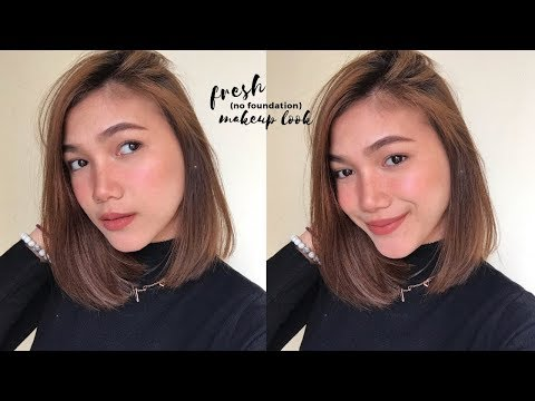 fresh-(no-foundation)-makeup-look-|-francheska-garchitorena