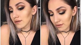 Bence Yaptığım En İyi Makyaj   Glitter Eyeliner ve Cut Crease   Instagram Makyajı!