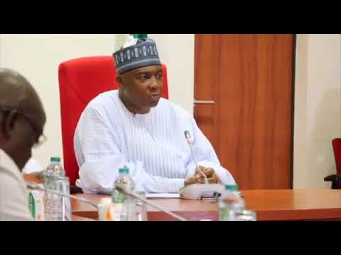 Senate President Bukola Saraki Speaks On Insecurity And State Police (Watch Video)