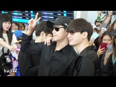 180330 Singto&Krist - Heading to Tianjin @ BKK Airport