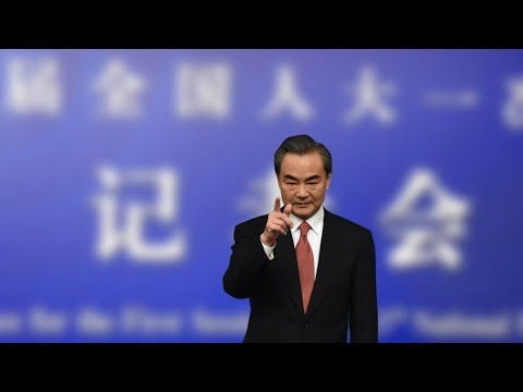 Chinese FM spells out push for diplomacy