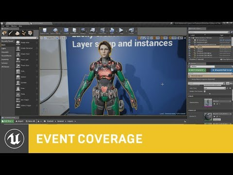 Showcasing Unreal's New Material Layering System | GDC 2018 | Unreal Engine
