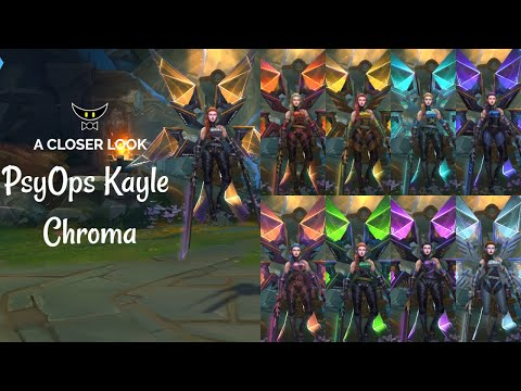 PsyOps Kayle Chromas (ALL FORMS)